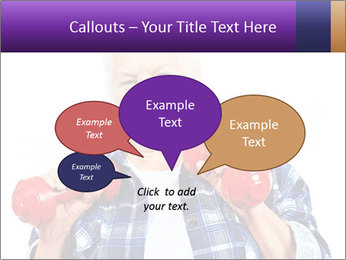 Happy grandma PowerPoint Template - Slide 73