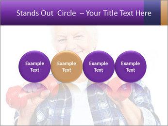 Happy grandma PowerPoint Template - Slide 76