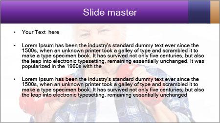 Happy grandma PowerPoint Template - Slide 2