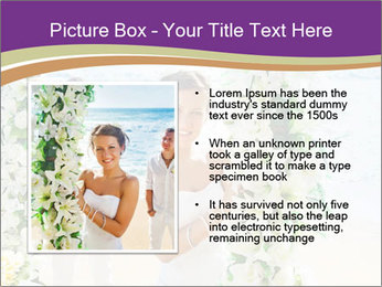 Romantic wedding PowerPoint Templates - Slide 13