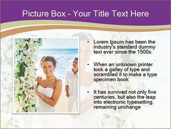Romantic wedding PowerPoint Template - Slide 13