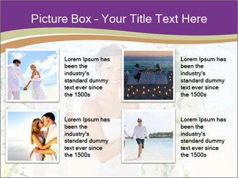 Romantic wedding PowerPoint Template - Slide 14