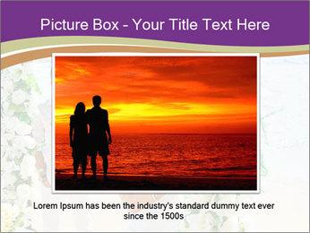 Romantic wedding PowerPoint Template - Slide 15