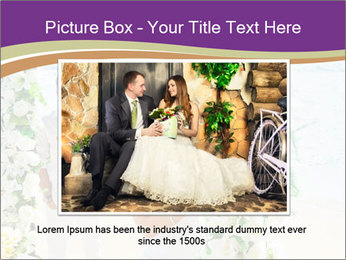Romantic wedding PowerPoint Templates - Slide 16