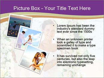 Romantic wedding PowerPoint Template - Slide 17