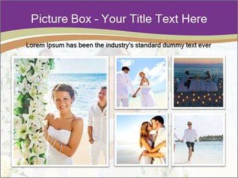 Romantic wedding PowerPoint Templates - Slide 19