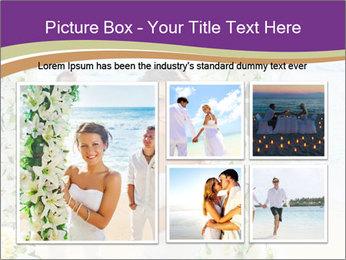 Romantic wedding PowerPoint Template - Slide 19