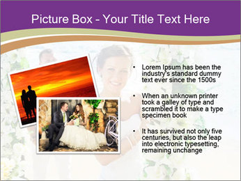 Romantic wedding PowerPoint Templates - Slide 20