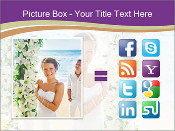 Romantic wedding PowerPoint Template - Slide 21