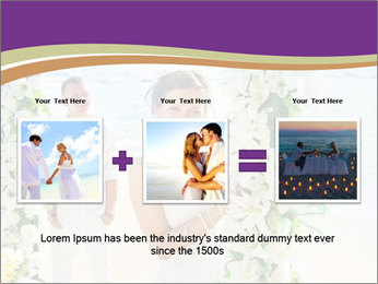Romantic wedding PowerPoint Template - Slide 22