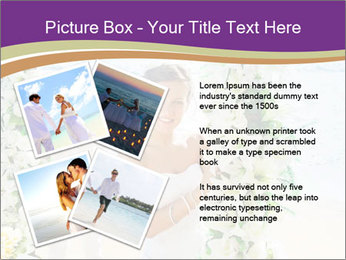 Romantic wedding PowerPoint Templates - Slide 23