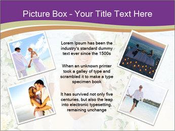 Romantic wedding PowerPoint Template - Slide 24