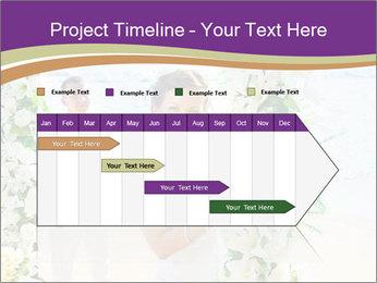 Romantic wedding PowerPoint Template - Slide 25