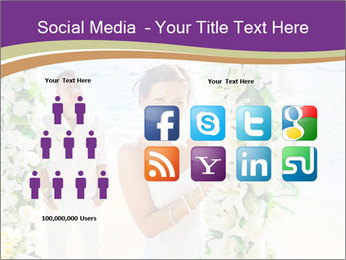Romantic wedding PowerPoint Template - Slide 5