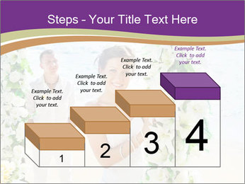 Romantic wedding PowerPoint Template - Slide 64