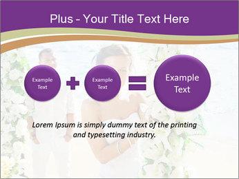 Romantic wedding PowerPoint Template - Slide 75