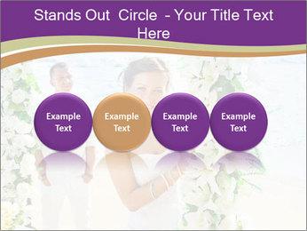 Romantic wedding PowerPoint Template - Slide 76