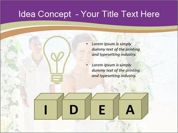 Romantic wedding PowerPoint Template - Slide 80