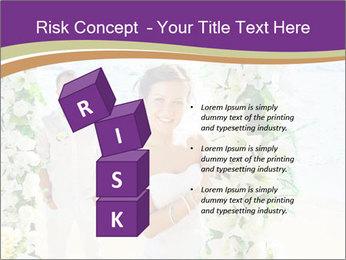 Romantic wedding PowerPoint Template - Slide 81