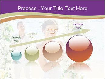 Romantic wedding PowerPoint Template - Slide 87