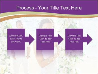 Romantic wedding PowerPoint Template - Slide 88
