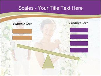 Romantic wedding PowerPoint Template - Slide 89