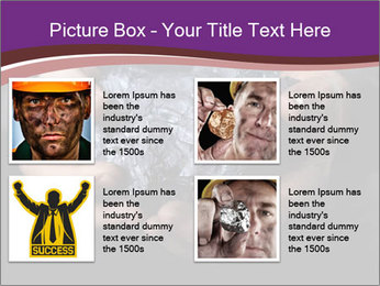 Coal in the hands PowerPoint Template - Slide 14