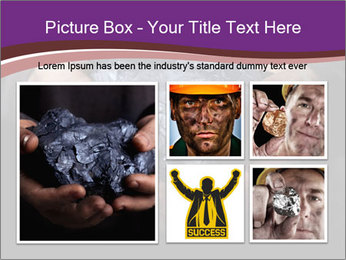 Coal in the hands PowerPoint Template - Slide 19