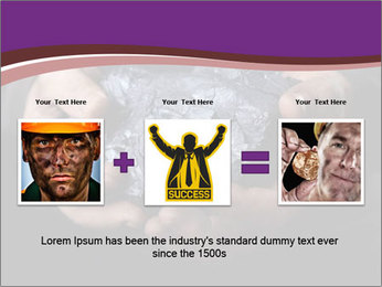Coal in the hands PowerPoint Template - Slide 22