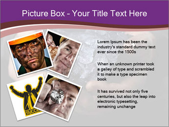 Coal in the hands PowerPoint Template - Slide 23