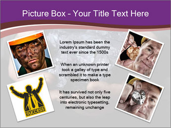 Coal in the hands PowerPoint Template - Slide 24