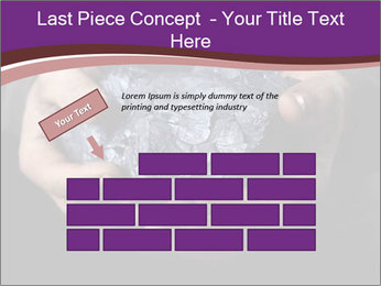 Coal in the hands PowerPoint Template - Slide 46