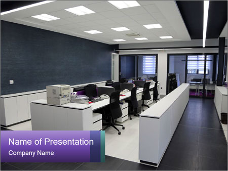 Modern office PowerPoint Templates