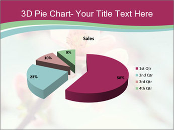 Spring blossom macro PowerPoint Template - Slide 35