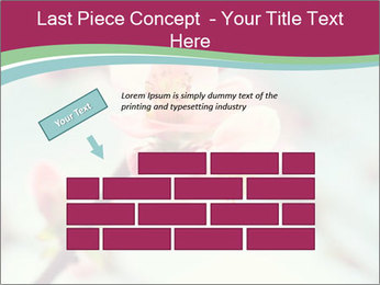 Spring blossom macro PowerPoint Template - Slide 46