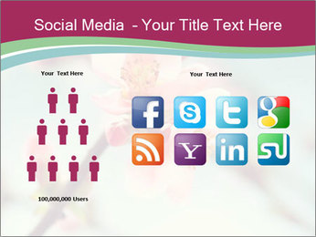 Spring blossom macro PowerPoint Template - Slide 5