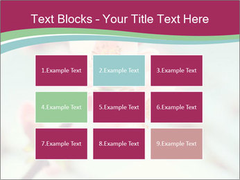 Spring blossom macro PowerPoint Template - Slide 68