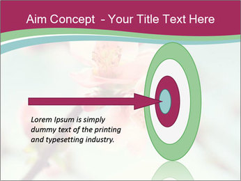 Spring blossom macro PowerPoint Template - Slide 83