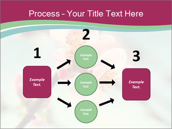 Spring blossom macro PowerPoint Template - Slide 92