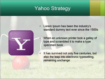 Croquet in the garden PowerPoint Templates - Slide 11
