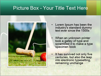 Croquet in the garden PowerPoint Templates - Slide 13