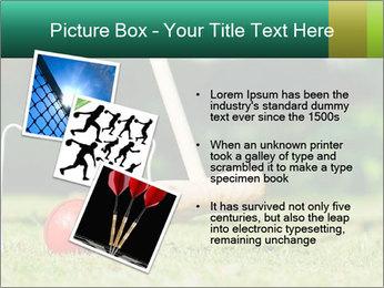 Croquet in the garden PowerPoint Templates - Slide 17
