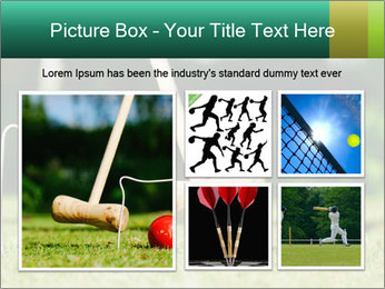 Croquet in the garden PowerPoint Templates - Slide 19
