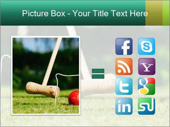 Croquet in the garden PowerPoint Templates - Slide 21