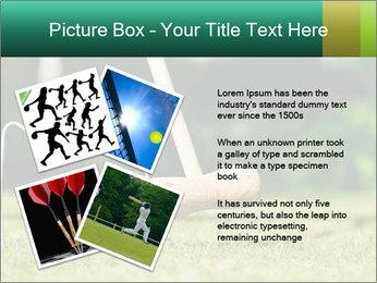 Croquet in the garden PowerPoint Templates - Slide 23