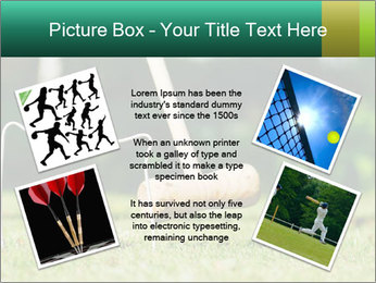 Croquet in the garden PowerPoint Templates - Slide 24