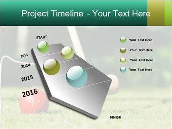 Croquet in the garden PowerPoint Templates - Slide 26