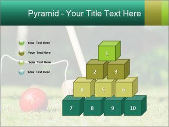Croquet in the garden PowerPoint Templates - Slide 31