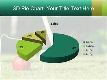 Croquet in the garden PowerPoint Templates - Slide 35