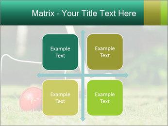Croquet in the garden PowerPoint Templates - Slide 37